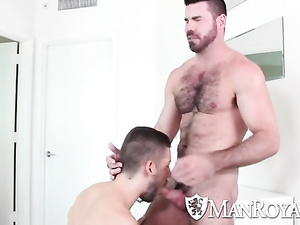 Hunks love to fuck assholes hard in various poses